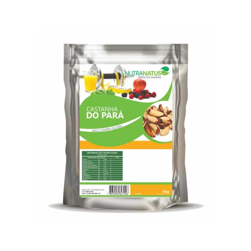 Castanha do Pará Sem Casca 1kg