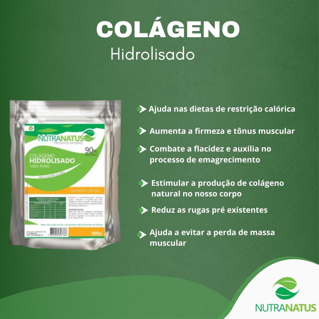 Colageno Hidrolisado Puro 1,6kg Importado Com Laudo
