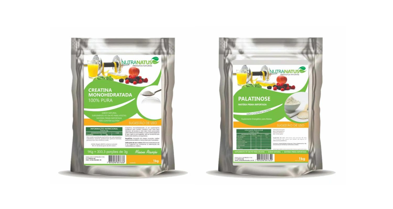 Combo Creatina Pura 1kg + Palatinose Natural 1kg