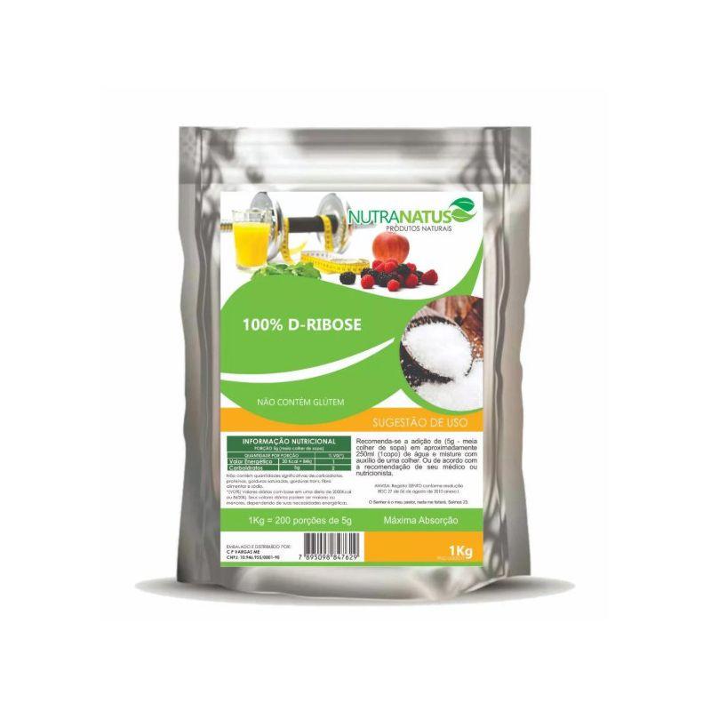 D-ribose Pura 1kg Importada