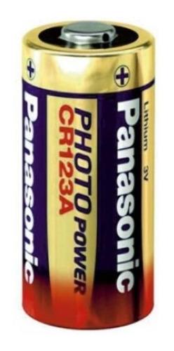 10 Pilha Cr123a 3v Panasonic Original Photo Power Atacado