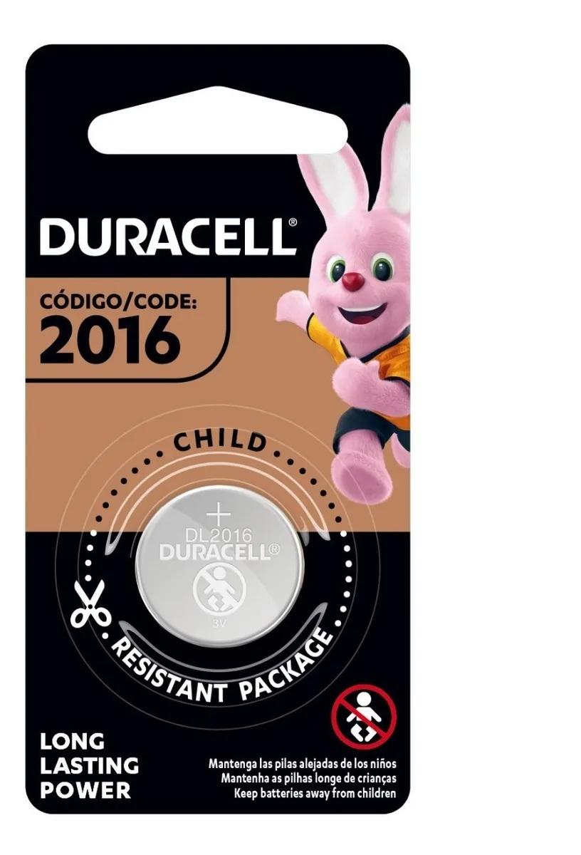 12 Pilhas Cr2016 Duracell 3v Bateria De Lítio Moeda Dl 2016