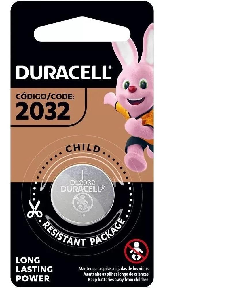 12 Pilhas Duracell Cr2032 3v Lítio Bateria Moeda