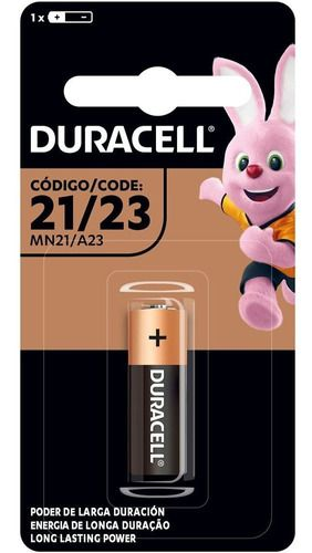 7 Pilha Alcalina Duracell 12 Volts Mn21a23 Alarme Controle