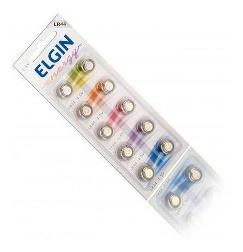 Kit Pilha Duracell Alcalina Aa16+aaa16+10 Bateria Elgin Lr44