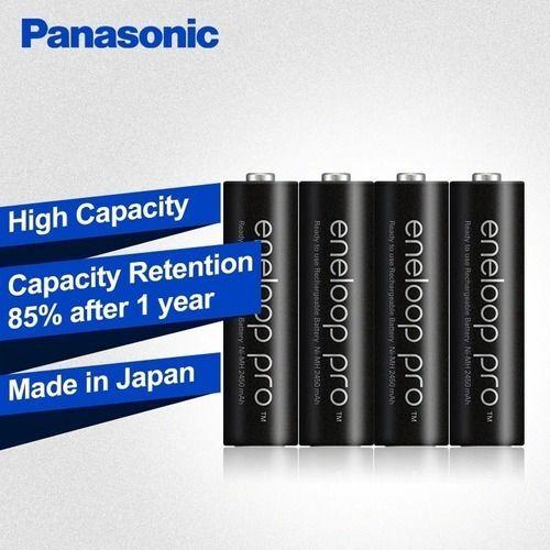 Pilha AA Eneloop Pro Recarregável Panasonic C/8 Unid 2550 Mah