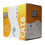 Cabo De Rede Utp Cat6 Furukawa Soho Plus 305 Metros Azul