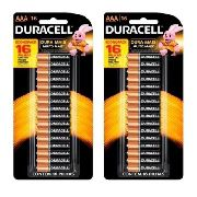 Kit 32 Pilhas Duracell Palito Aaa Cartela C/16 Econopack