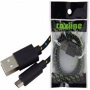 Cabo Usb X iPhone 5/6 Roxline