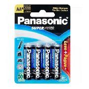 24 Pilhas Panasonic Aa Comum Cartelas C/ 8 Unidades