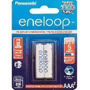 Pilhas Recarregaveis Aaa 800mah Panasonic Eneloop C/2 Unid
