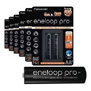 Pilha Recarregável Eneloop Pro Pequena Aa Panasonic C/8 Unid
