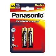 Pilha Alcalina Panasonic Aa Pequena Cartela C/8 Unidades