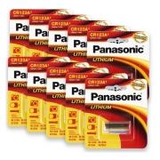 20 Bateria Cr123a Pilha 3v Panasonic Original Photo