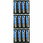 24 Pilhas AA Panasonic Zinco Comum