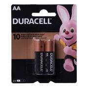 24 Pilhas Duracell Alcalina Pequena Aa 12 Cartelas C/ 2 Atacado