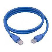 Patch Cord Cat 5e 1,50 Azul Data Conect
