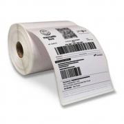 5 RoloS Etiqueta 10x15 Cada Rolo 330 Etiquetas Adesiva Serrilha Couche Usa Ribbon Zebra Argox Elgin Mercado Livre