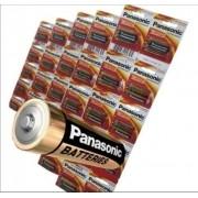 60 Pilhas Aaa Panasonic Alcalina A3 Palito 3 Cartelão C/20
