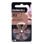 60 Pilhas Baterias 312 Duracell Pr41 Aparelho Auditivo