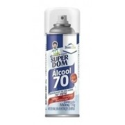 Álcool Spray Aerossol 70 Super Dom 300ml Dom Line Original