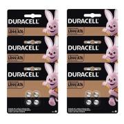 Bateria Alcalina Duracell Lr44 1.5v Botão 12 Cartelas C/4un