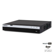 DVR Intelbras Full HD MHDX 3108 8 Canais IP HD 06 TB Purple