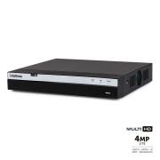 DVR Intelbras Full HD MHDX 3108 8 Canais IP HD 10 TB Purple