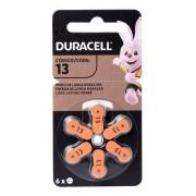 Kit Com 3 Pilhas Duracell Auditiva 13 Com 6 Unidades Cada