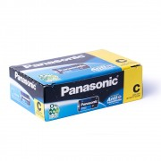 Kit Pilha C Média Panasonic 24 Unid Rádio Brinquedo Atacado