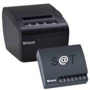 KIT SAT Sweda SS2000 Ethernet + Impressora Térmica SI300 USB