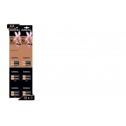Pilha AA Alcalina Duracell 1 Cartela 6x2 C/12 Pilhas