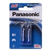 Pilha Aa Panasonic Alcalina Platinum Power C/2 Un