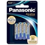 Pilha Aaa Panasonic Alcalina Premium Leve 4 Pague 3 Pilhas