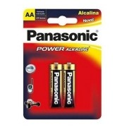Pilha AA Alcalina Panasonic Cartela C/2 Unidades