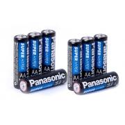 Pilha Panasonic Aa Comum C/8 Unidades