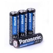 96 Pilha Panasonic Comum Pequena Aa 24 Cartelas C/4 Unid