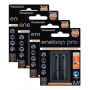 Pilha Recarregável Eneloop Pro Aa Panasonic C/8 Unid