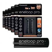 Pilha Recarregável Eneloop Pro Pequena Aa Panasonic C/6 Unid