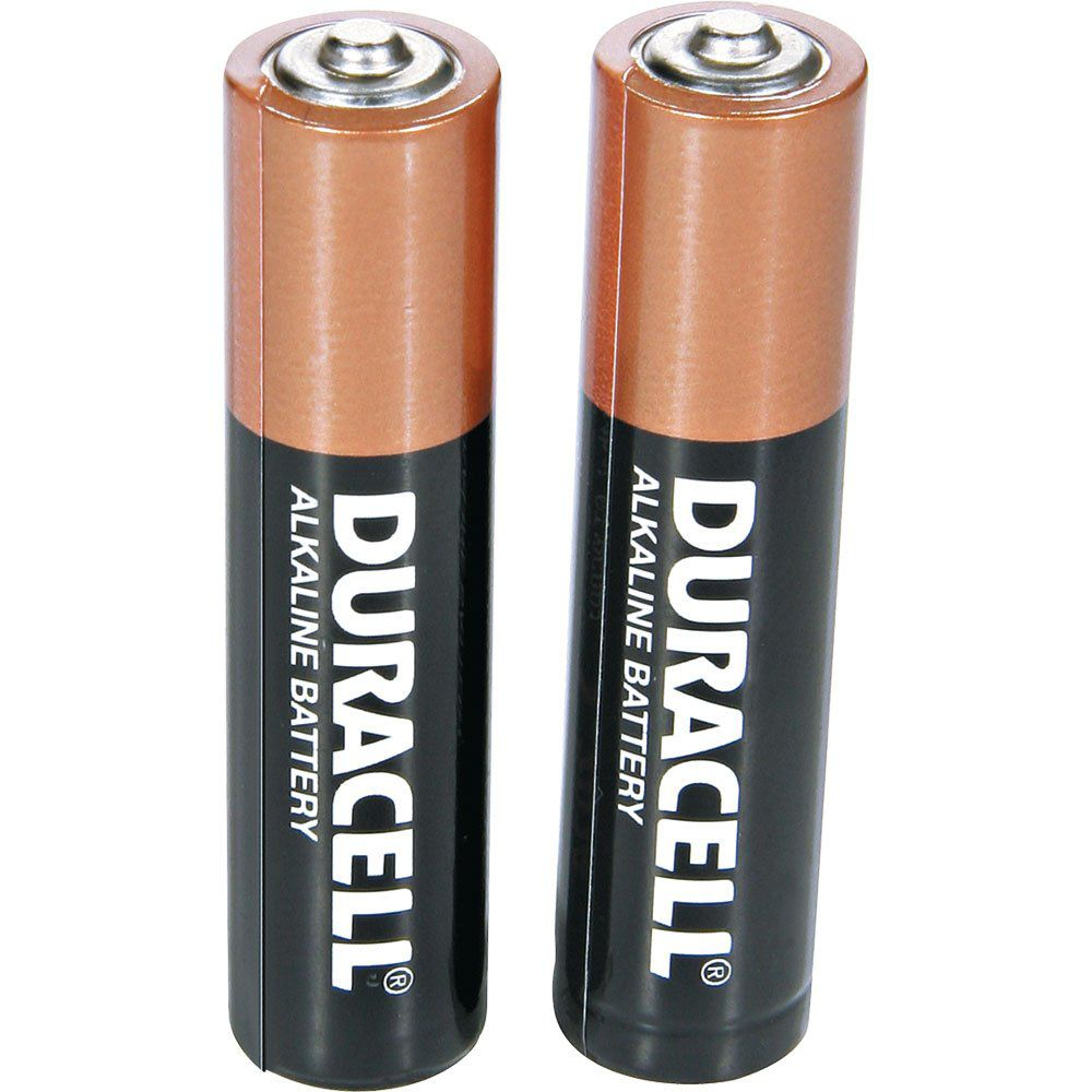 24 Pilhas Palito AAA Duracell Alcalina Cartela com 2 Atacado