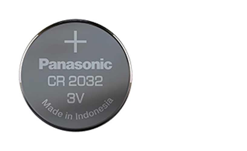 2 Bateria Moeda Cr2032 Panasonic 3v DL2032