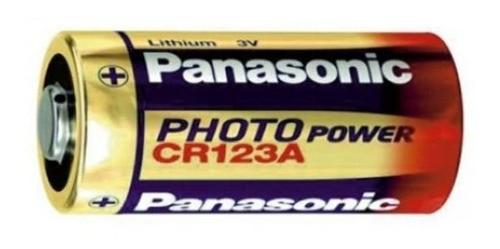 2 Baterias Panasonic Cr123a Lithium 3v
