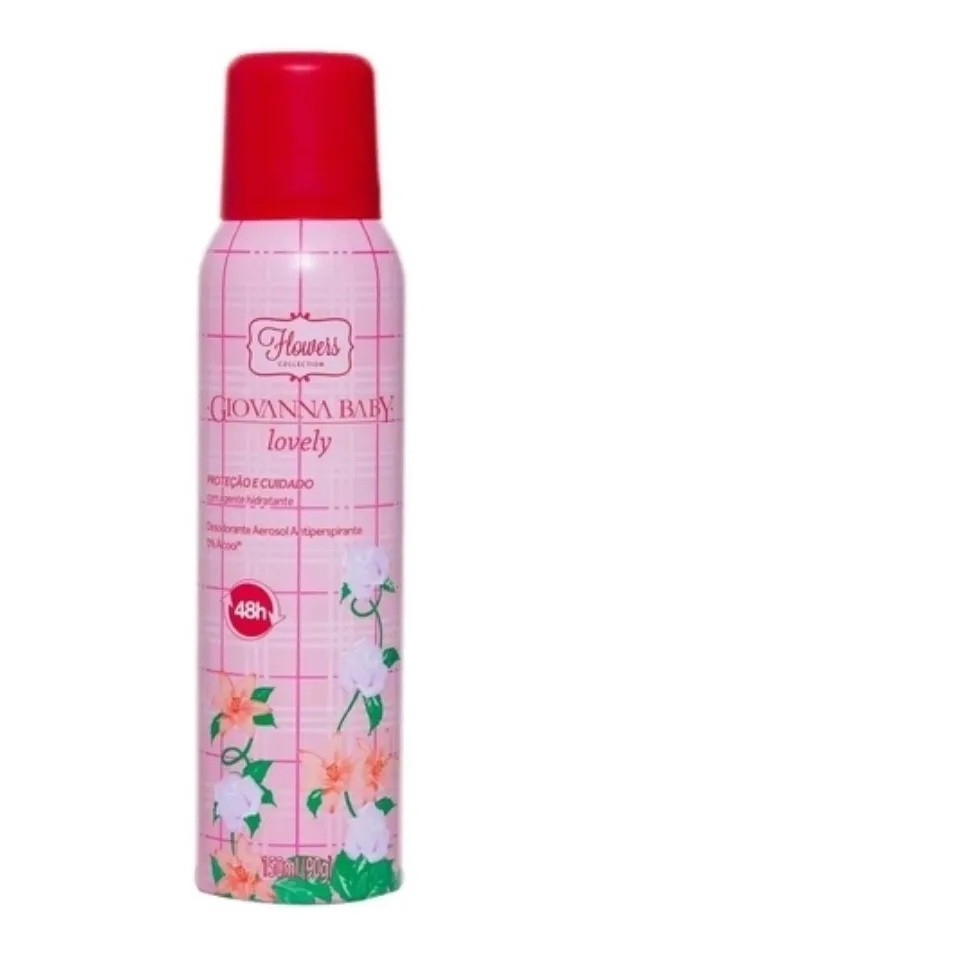 2 Desodorante Aerosol Giovanna Baby Blanc Vanilla 150 ML