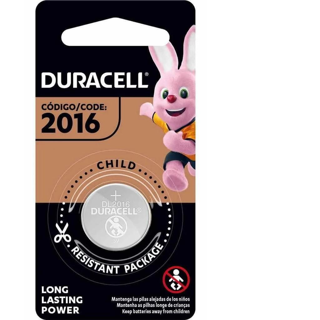 2 Pilhas Cr2016 Duracell 3v Bateria De Lítio Moeda Dl 2016