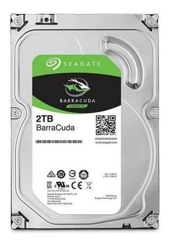 Hd Seagate Barracuda 2tb 3.5´ Sata St2000dm006