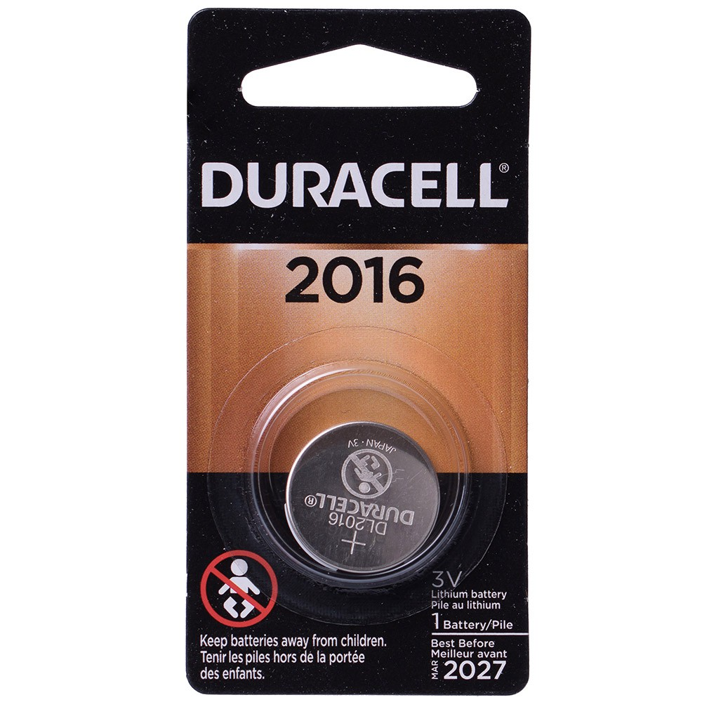 3 Pilhas Cr 2016 Duracell 3v Bateria De Lítio Moeda Dl 2016
