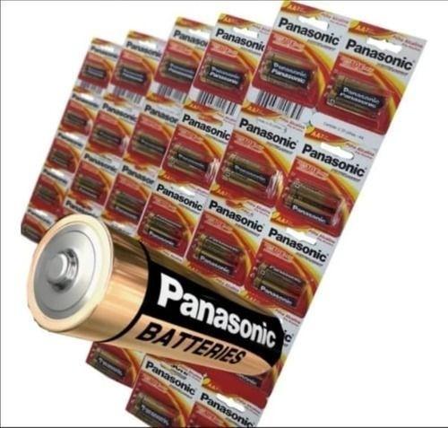 40 Pilhas Aaa Panasonic Alcalina Palito A3 Cartelão