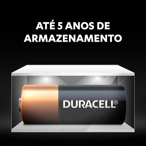 4 Pilhas Mn21a23 Alcalina Duracell 12v Alarme Controle