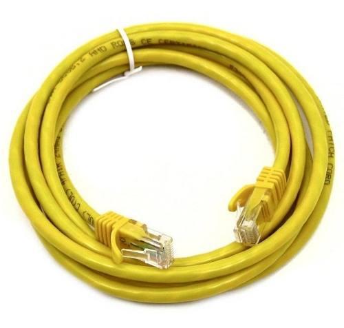 Patch Cord Cat 5e 1,50 Amarelo Data Conect