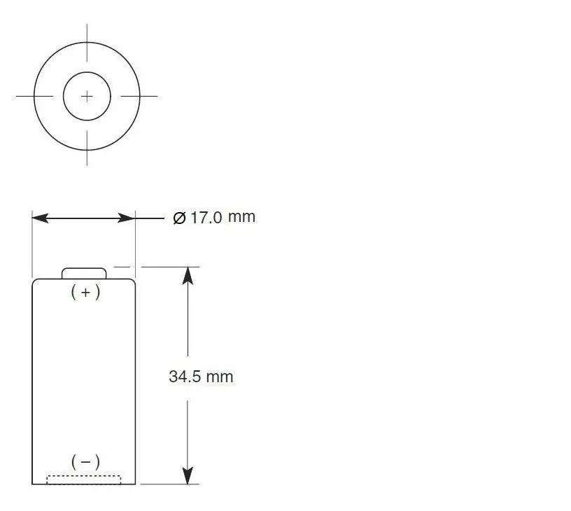 6 Pilha De Lítio Cr123 Duracell 3v Dl123 Atacado Original